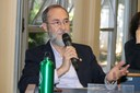 Antonio Mauro Saraiva fala durante o debate