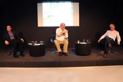 Eduardo Saron, Ricardo Ohtake e Heitor Martins