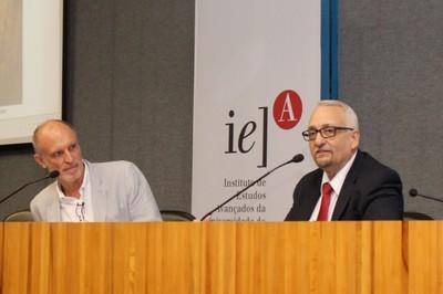 Martin Grossmann e Paulo Saldiva