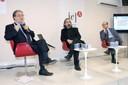 Octavio de Barros, Gilson Schwartz e Regis Arslanian