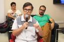 O conferencista Marcelo Rezende, curador e jornalista especializado em cultura