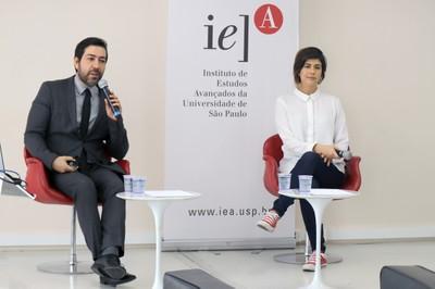 Marcos Holtz e Carolina Monteiro