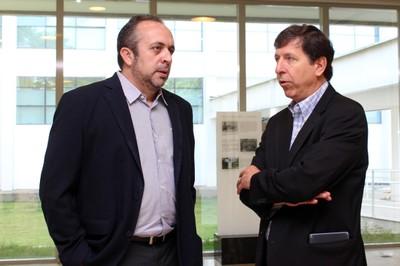 Hamilton Varela e José Eduardo Krieger