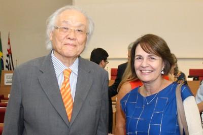 Ricardo Ohtake e Marcy Junqueira