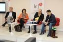 Jorge Abrahão, Leda Paulani, Mauro Ferreira , Adrián Albala