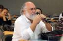 Elie Ghanem fala durante o debate