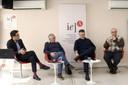 Gustavo Ribeiro, José Alvaro Moisés, Carlos Melo e Cláudio Couto