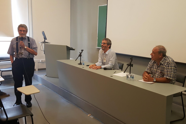 Moisés Goldbaum, José Ricardo Ayres e Gildo Magalhães dos Santos