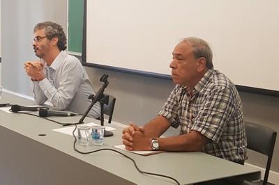 José Ricardo Ayres e Gildo Magalhães dos Santos