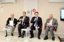 Frederico Straube, Julio Cesar Bueno, Gerson Damiani e Martin Hunter