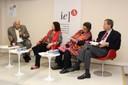 Felipe González, Nélida Piñon, Beatriz Paredes e Pedro Dallari