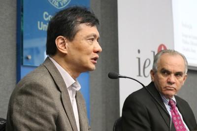 Chao Lung Wen e Hélio Dias
