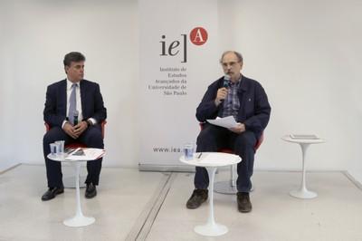 José Ricardo Roriz e Glauco Arbix