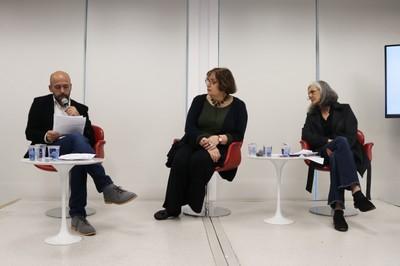 Dirk Michael Hennrich, Eda Tassara e Sandra Patrício