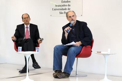 Alvaro Toubes Prata  e Glauco Arbix