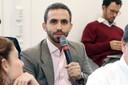 Vitor Monteiro faz perguntas ao expositor