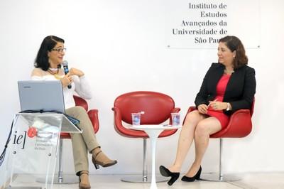 Bernadette Cunha Waldvogel e Silvia Elena Giorguli Saucedo