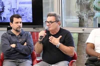 Marcus Faustini e João Roberto Ripper