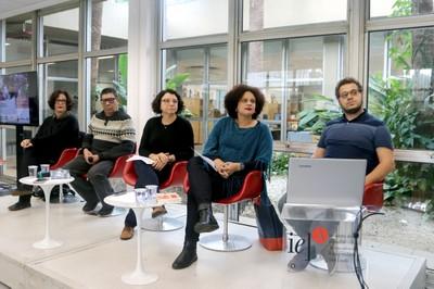 Heloisa Buarque de Hollanda, Sergio Vaz, Erica Peçanha e Marcio Vidal