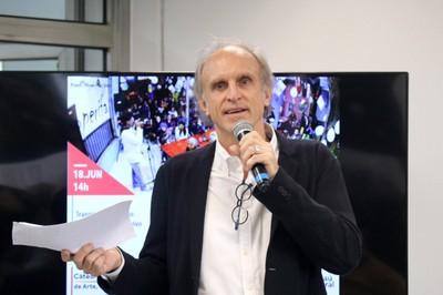 Martin Grossmann abre o evento