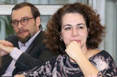Deisy Ventura e Eduardo Bittar