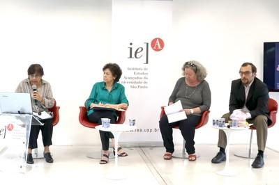 Cecília Carmen Pontes Rodrigues, Silvia Schor, Flavia Schilling e Eduardo Bittar