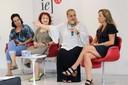 Valéria de Mendonça, Eugênia Gorini Esmeraldo, Ana Helena Curti e Vitória Arruda