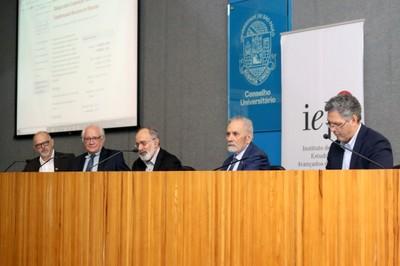 Fernando Landgraf , Caetano Juliani, Guilherme Ary Plonski, Sérgio Ernesto Alves Conforto e Eduardo Augusto Ayrosa Galvão Ribeiro