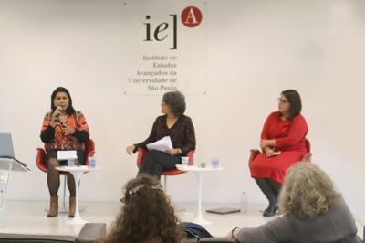 Pamela Esteves, Maria Cristina Vicentin e Carla Biancha Angelucci