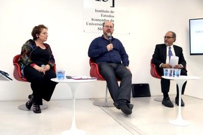 Evelyn Levy, Fernando Luis Abrucio e Humberto Falcão Martins