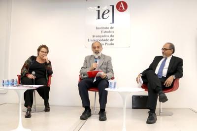 Evelyn Levy, Guilherme Ary Plonski e Humberto Falcão Martins