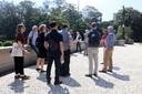 Participantes visitam o Museu Paulista