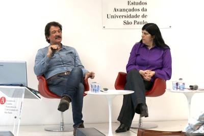 Vinicius Romanini e Monica Aiub