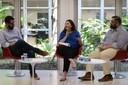 Rafael Fonseca Santos, Maria Edelvacy Marinho e Diogo Rais