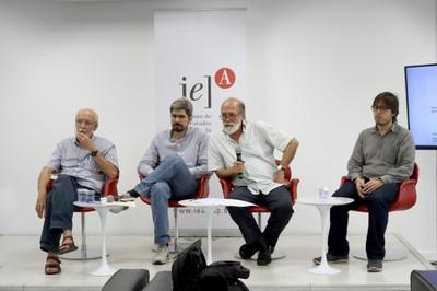 Marcos Barbosa de Oliveira, João Bourbaki, Pablo Mariconda e Orlando Lima Pimentel
