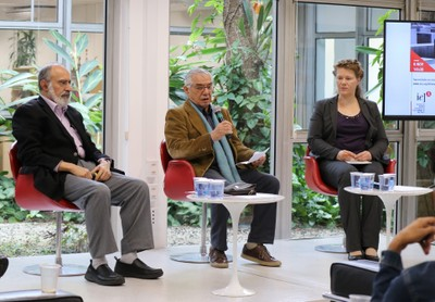 Guilherme Ary Plonski, José Álvaro e Brigitte Weiffen