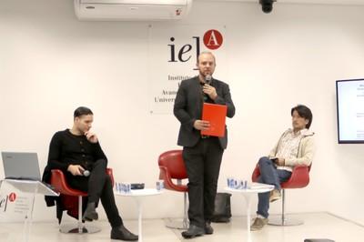 Marco Bastos, Vitor Blotta e Eduardo Nunomura