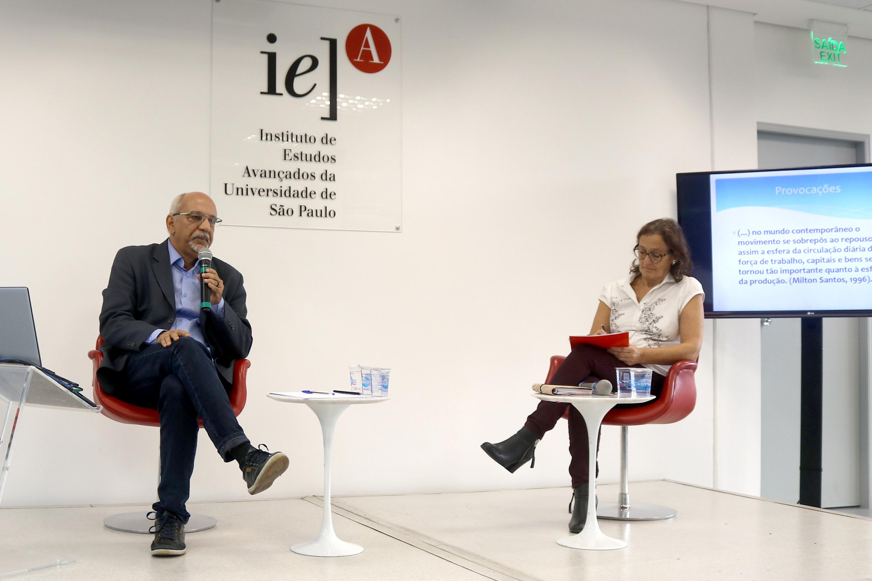 Jorge Luiz Barbosa  e Ana Fani Alessandri Carlos