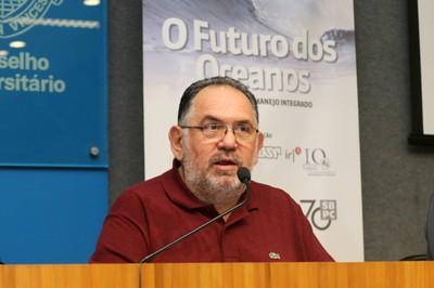Alfredo Nastari faz a abertura do evento