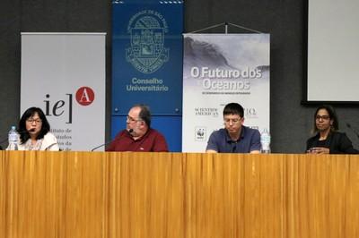 Cintia Miyaji, Alfredo Nastari, Marcelo Kitahara e Leticia Reis de Carvalho