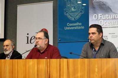 Guilherme Ary Plonski, Alfredo Nastari e Alexander Turra