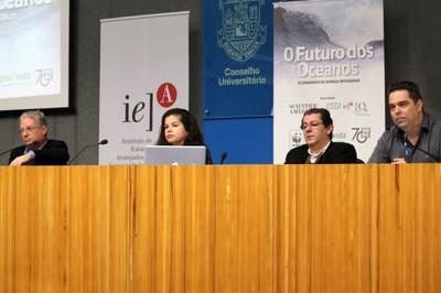 Régis Pinto de Lima, Margareth da Silva Copertino, Tércio Ambrizzi e Alexander Turra