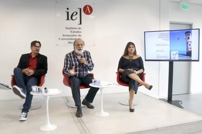 Evaldo Becker , Pablo Mariconda e Michele Amorim Becker