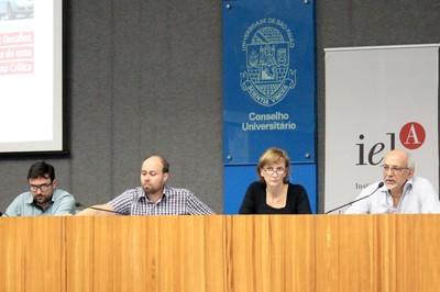 Rafael Faleiros de Padua, Danilo Volochko, Vera Pallamin e Jorge Luiz Barbosa - 1/10/2018