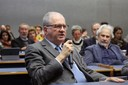 Marco Antonio Zago fala durante o debate