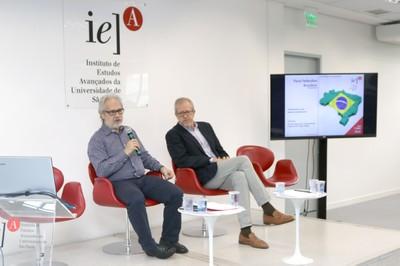 Marcos Buckeridge e João Paulo Capobianco
