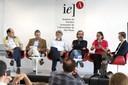 Eugênio Bucci, Mauricio Fiore, João Paulo Becker Lotufo, Gilson Schwartz, Monica Teixeira e Daniel Barros