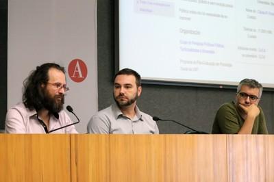 Alessandro Soares da Silva, Gustavo Massola e Fernando Lacerda