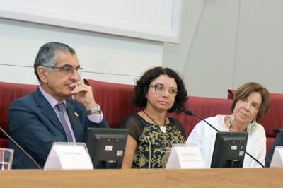 Vahan Agopyan, Eliana Sousa Silva e Maria Alice Setubal