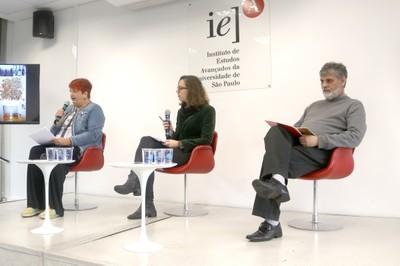 Breda Skrjanec, Gabriella de Biaggi e João Francisco Justo Filho